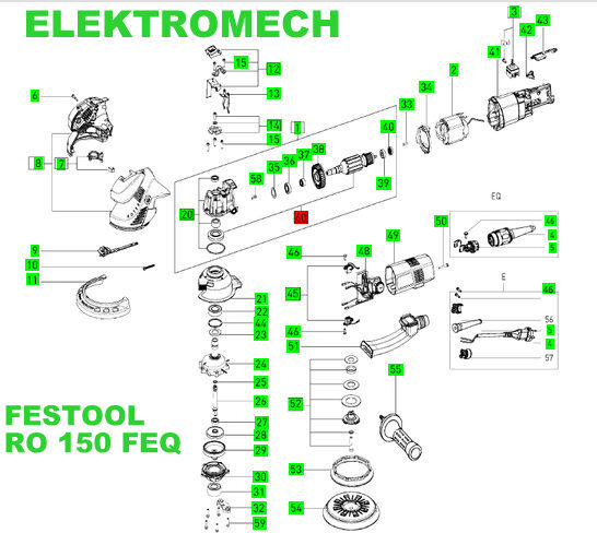 festool wirnik rotex ro 150 feq ko o z bate festool. Black Bedroom Furniture Sets. Home Design Ideas