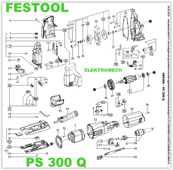 festool ps 300 eq czesci