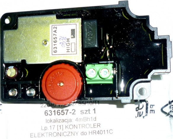 MAKITA REGULATOR OBROTÓW HR 4001 4011 ELEKTRONIKA