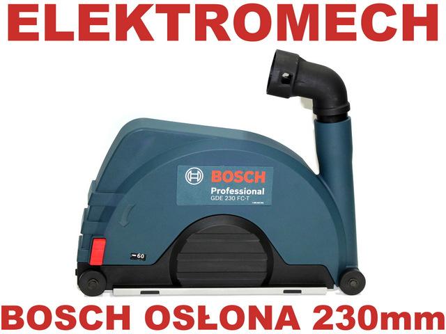 Najnowsze BOSCH GDE 230 FC-T osłona szlifierka bruzdownica - OSPRZĘT TN67